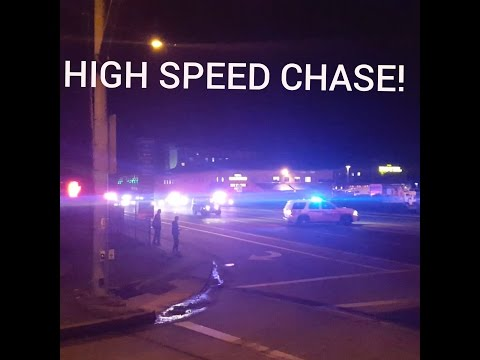 HIGH SPEED CHASE NORTH BEND/COOS BAY OREGON