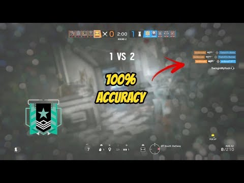 I Have The Best Aim On Console.. Here Are My Settings- Rainbow Six Siege