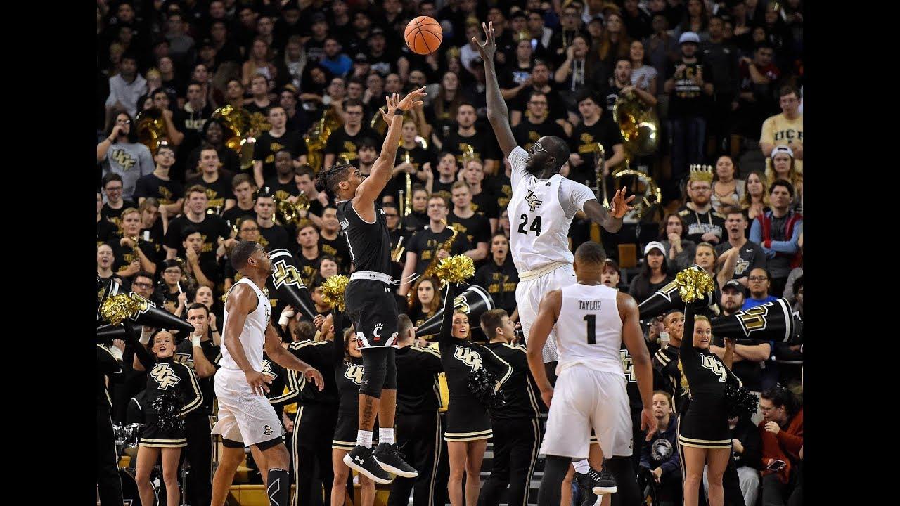 Men's Basketball Highlights – #12 Cincinnati 49, UCF 38