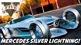 GTA V – Mercedes Silver Lighting MOD