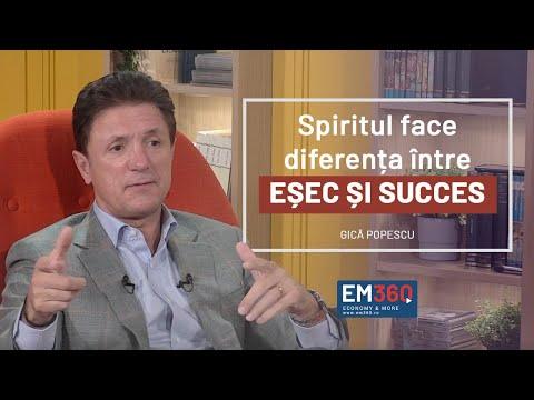 Gică Popescu, la EM360: Spiritul face diferența între eșec și succes