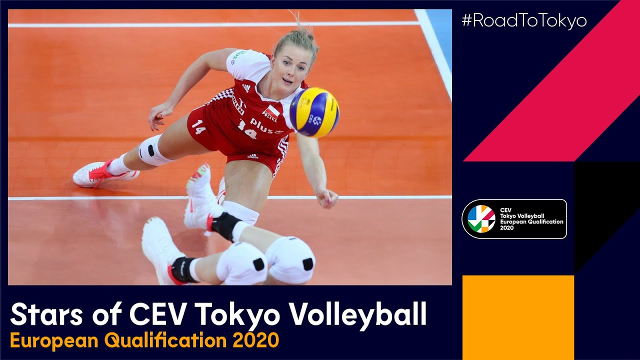 Top Stars of CEV Tokyo Volleyball European Qualification 2020 (Women)