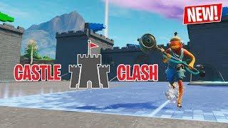 Castle Clash // SPLATOON MINIGAME in FORTNITE CREATIVE! // Code + Trailer