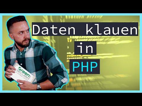 PHP Tutorial | Webseiten Crawlen OHNE Simple HTML DOM Parser?