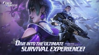 CYBER HUNTER ANDROID GAMEPLAY