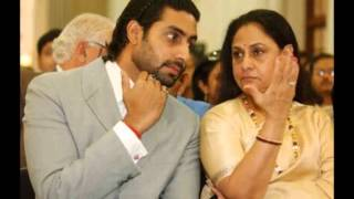 Actress Jaya Bachan with her son Abisekh Bachan rare and unseen
