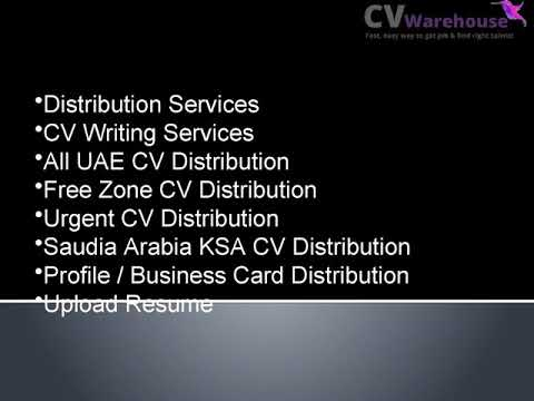 CV Writing Services UAE