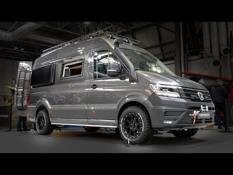 Inside A £100,000 4X4 OFF ROAD VW Crafter Camper