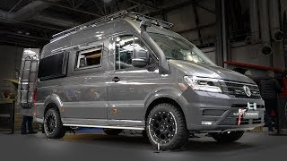 Inside A £100,000 4X4 OFF ROAD VW Crafter Camper