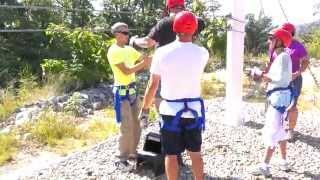 guide saves mans life on smokey mountain zip line tour