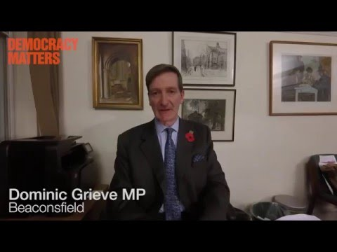 Dominic Grieve MP Supports Citizens' Assemblies