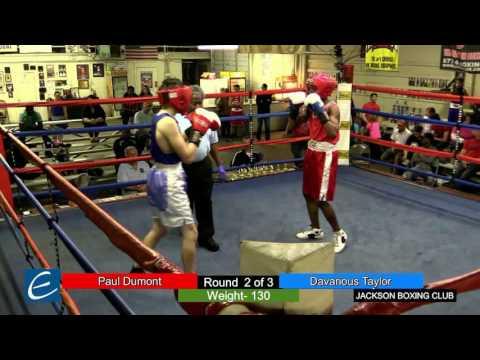 Jackson, Tn Boxing 26MAR2016 P Dumont vs D Taylor