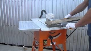 Repeat youtube video Przecinarka stołowa do drewna krajzega SCHWARZBAU TS250A max 2500watt
