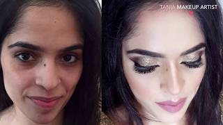 Best Makeup Artist In Jalandhar | Punjab |Amazing Transformation Done By TANIA Makeup Artist |2017