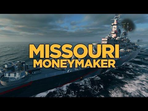 World of Warships - Missouri Moneymaker