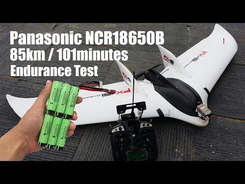 Zeta FX61 85km 101min Range Test with NCR18650B 4S3P
