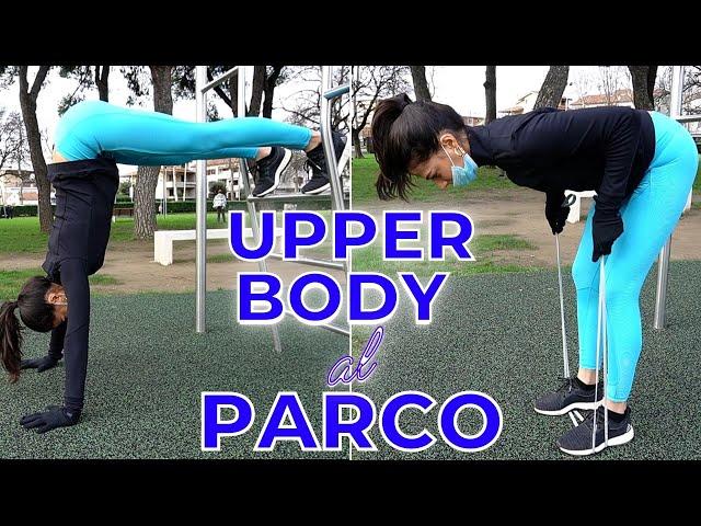 UPPER BODY COMPLETO AL PARCO | Silvia Fascians