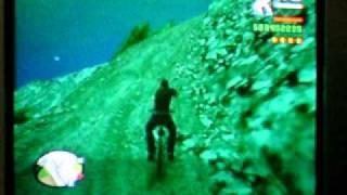 グラセフ サンアンドレアス 自転車で逃亡3 ☆4から逃げる!