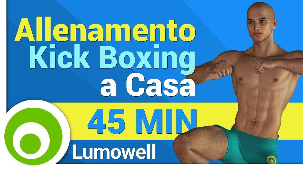 Allenamento kick boxing a casa esercizi per tonificare - Allenamento kick boxing a casa ...