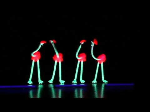 how to make black light puppets