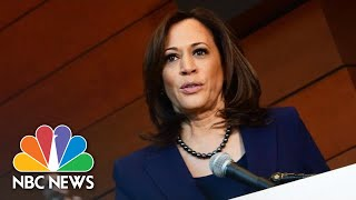 Senator Kamala Harris Speaks For First Time After Announcing Run For President | NBC News