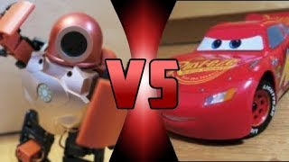 ROBOT DEATH BATTLE! - RoboHero VS Ultimate Lightning McQueen