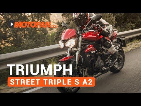 Triumph Street Triple S A2 - Prueba, opinión y detalles - Motofan
