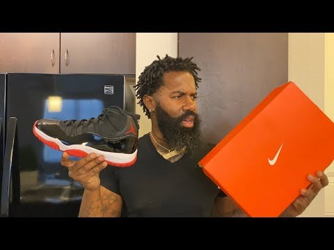 WTF😲 DID NIKE SEND ME FAKE 2019 BRED AIR JORDAN 11'S 🤦🏾♂️ THIS SOME BS *MUST WATCH*