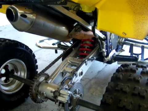 2007 Suzuki LTR 450 FOR SALE! - YouTube