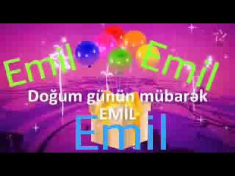 Ad Gunun Mubarək Olsun Emil Youtube