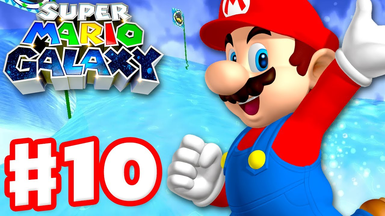 Super Mario Galaxy - Gameplay Walkthrough Part 10 - Planet of Trials! (Super Mario 3D All Stars)