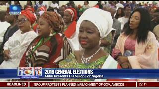 PDP Presidential Candidate, Atiku  Promises To Boost FDI