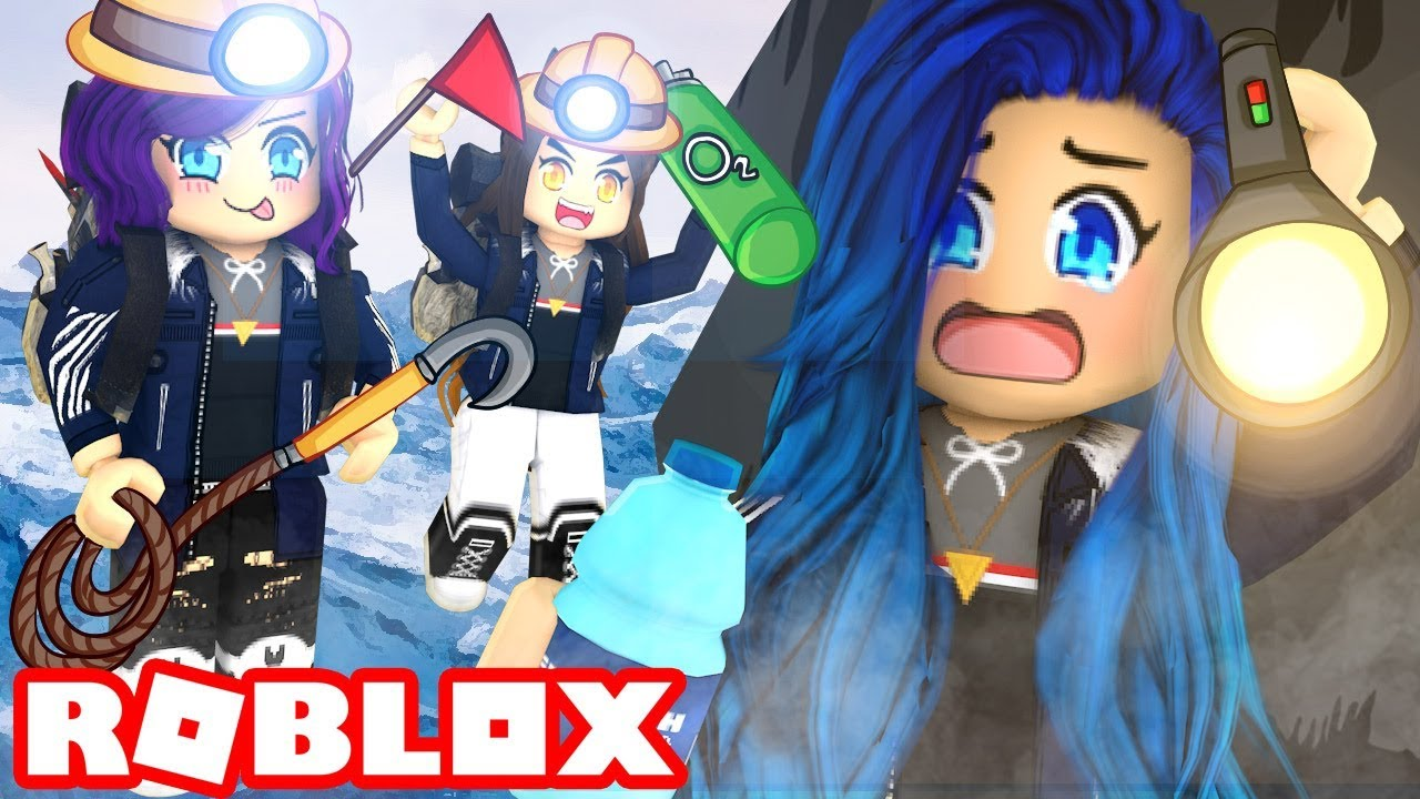 I'M TRAPPED IN A HOLE FOR 24 HOURS in Roblox Mount Everest!
