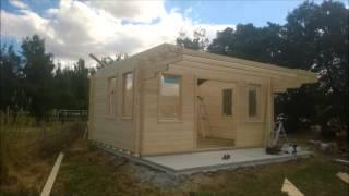 log cabin kit bungalow
