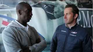 What did Olympic legend Michael Johnson think about sailing with Ben Ainslie?