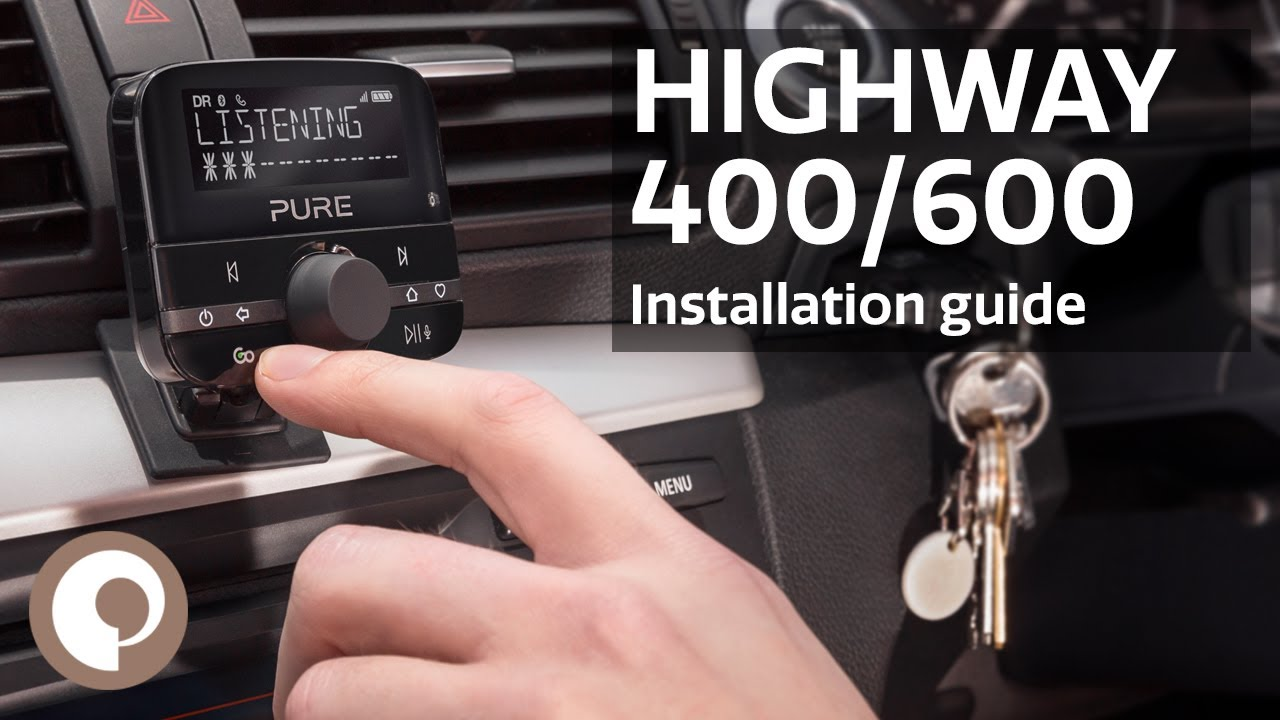 Pure Highway 400 600 Installation Guide Youtube Wiring Diagram