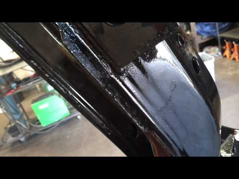 1978 Chevy Truck Frame Painted With Por 15 Doovi
