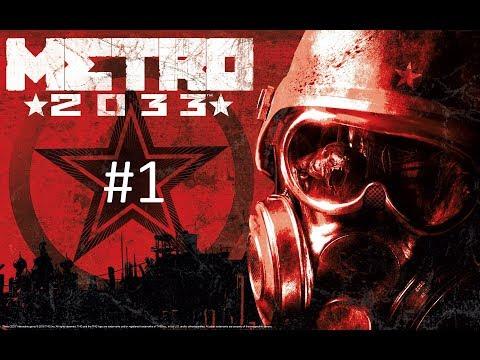 Metro 2033 #1 Wpadłem w kanał ;p