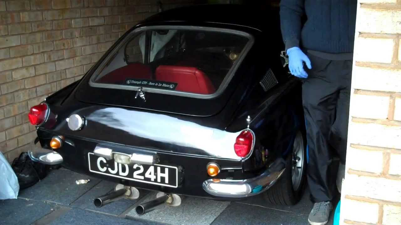 Triumph Gt6 Out Of 6 Month Hibernation Video Youtube