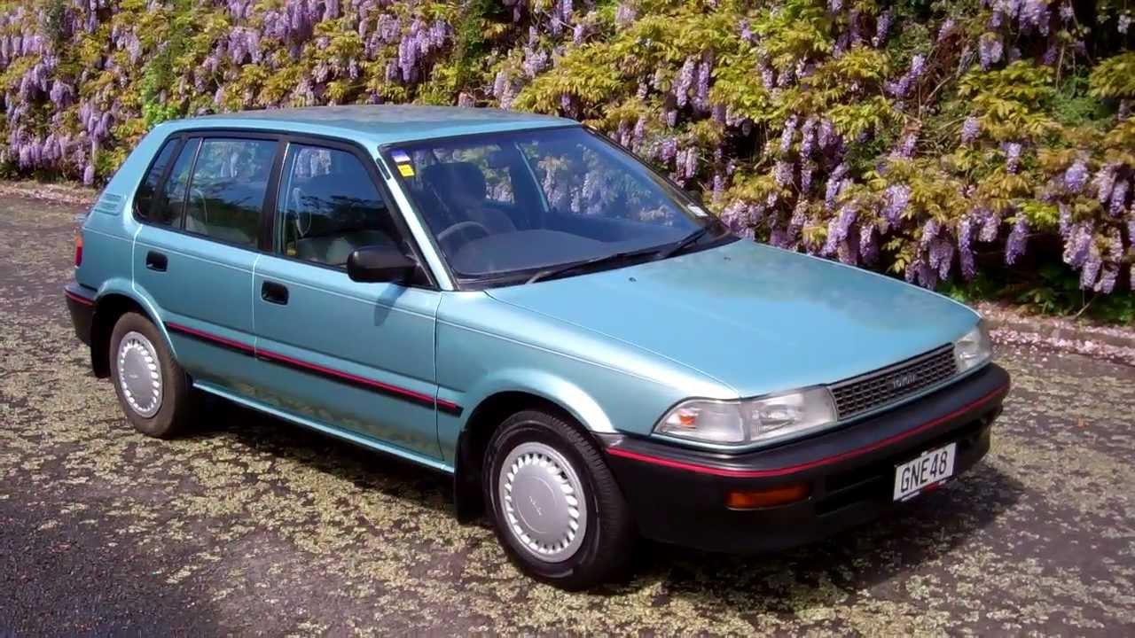 1990 toyota corolla hatch 1 reserve cash4cars. Black Bedroom Furniture Sets. Home Design Ideas