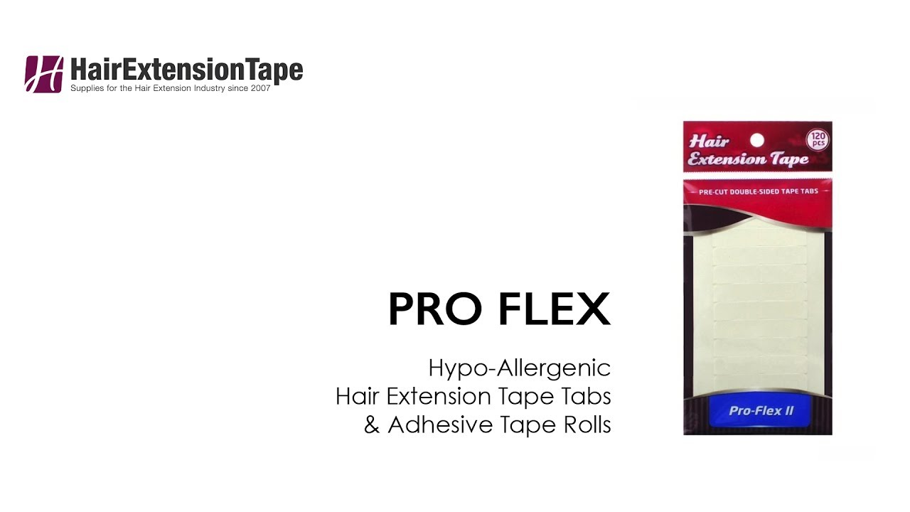 Pro Flex Hair Extension Tape Walker Tape