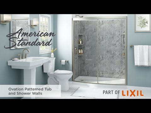 Ovation Patterned Tub And Shower Walls By American Standard