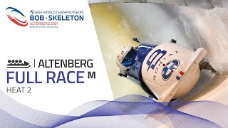Altenberg | BMW IBSF World Championships 2021 - 4-Man Bobsleigh Heat 2 | IBSF Official