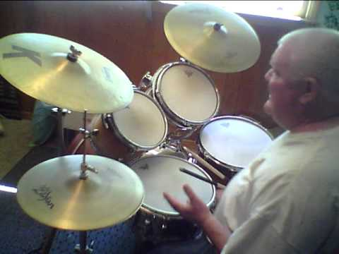 Charlie Watts Broken 8th notes pattern