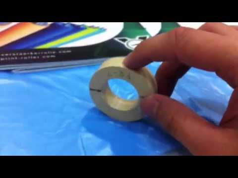 Rubber Roller Friction Reduce Treatment (Video)