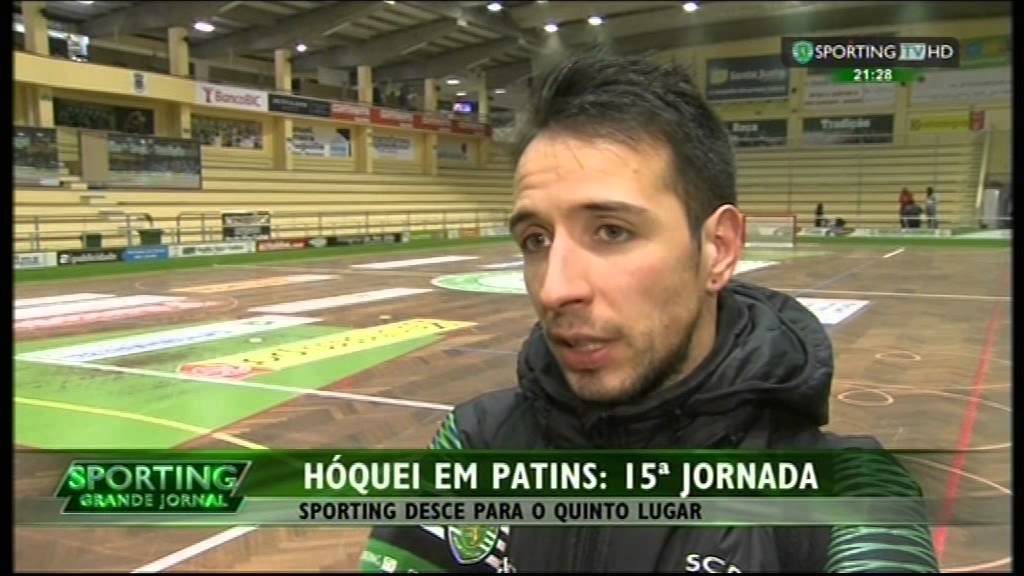 Hoquei Patins :: 15J :: Valongo - 4 x Sporting - 1 de 2014/2015