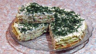 Торт из кабачков просто, быстро и вкусно // Zucchini cake is simple, fast and delicious