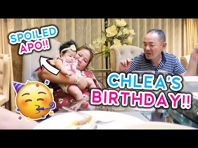 CHLEA'S 3RD MONTH BIRTHDAY CELEBRATION!