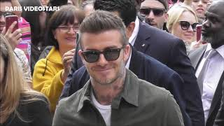 VIDEO David BECKHAM @ Paris 21 may 2019 arriving at the opening of House 99 pop-up store