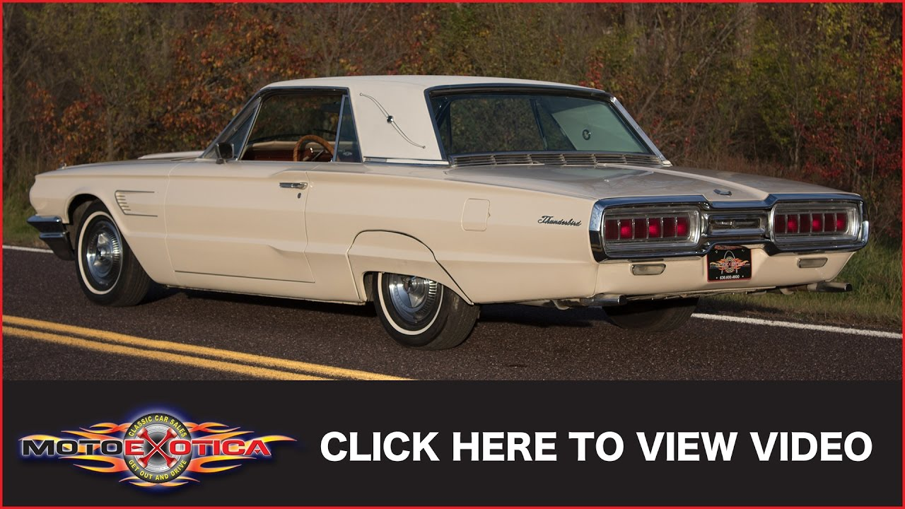 medium resolution of 1965 ford thunderbird sold